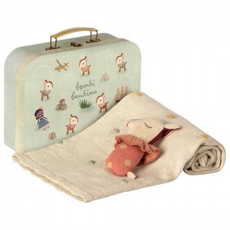 Set de Regalo para bebé en maleta (Rosa)