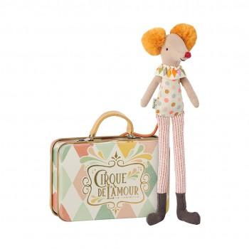 Ratoncito Clown en maleta