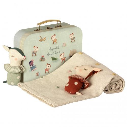 Set de Regalo para bebé en maleta (Teja)