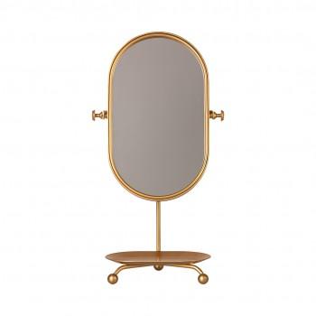 Espejo de mesa - Dorado