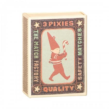 3 little pixies in box, metal