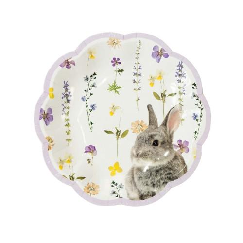 Truly Bunny Plates (12u.)