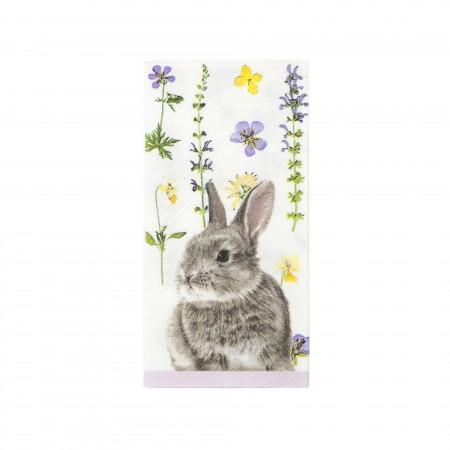 Servilletas de papel flor Bunny (20u.)