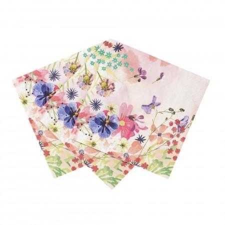 Servilletas de papel rosa (20u.)