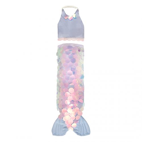 Mermaid Wrap Dress Up