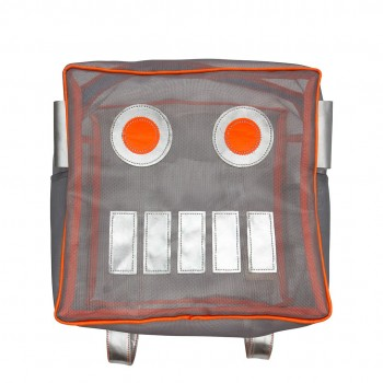 Robot Mesh Backpack