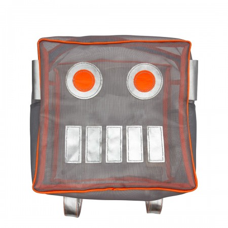 Robot Mesh Backpack