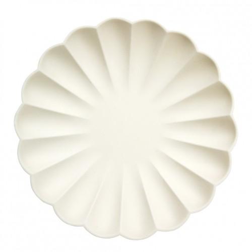 Platos crema