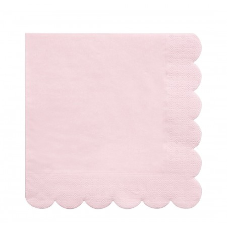 Pink Simply Eco Large Napkins (20u)