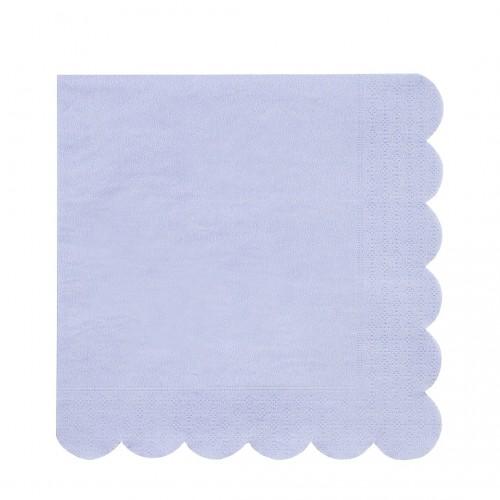Servilletas Large, azul  (20u.)