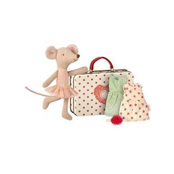 Ballerina Mouse w.  2 dresses
