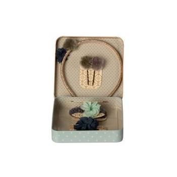 Hair accessories gift set-Blue