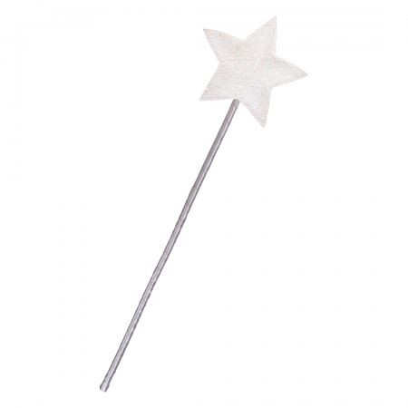 Glitter Star Wand-Pink