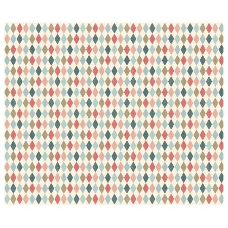 Papel de regalo, Harlekin colores, 10 m
