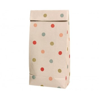 Bolsa de papel Multi Dots (pequeña)