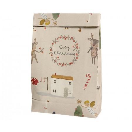 Bolsa de papel Cosy Christmas