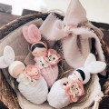 Necklace  Blond Hair Bunny Fleur - Rose Sack