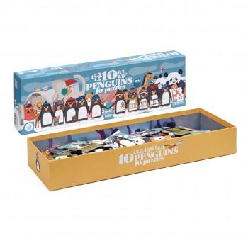 10 Pingüinos Puzzle