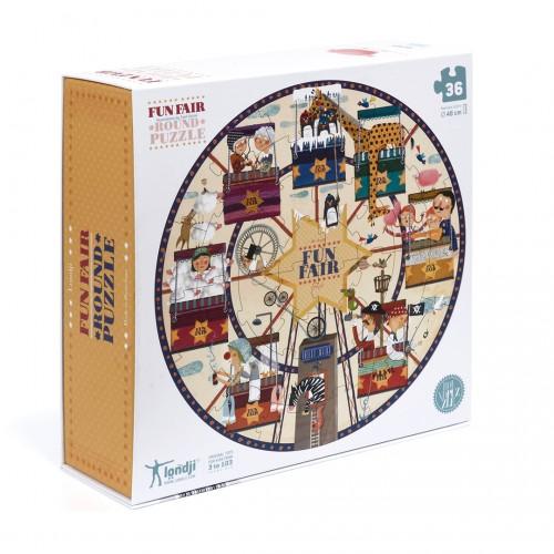 Puzzle Redondo Feria