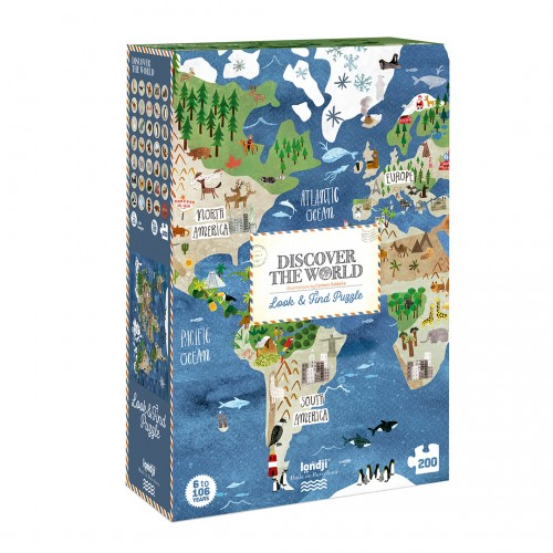 Discover the world Puzzle