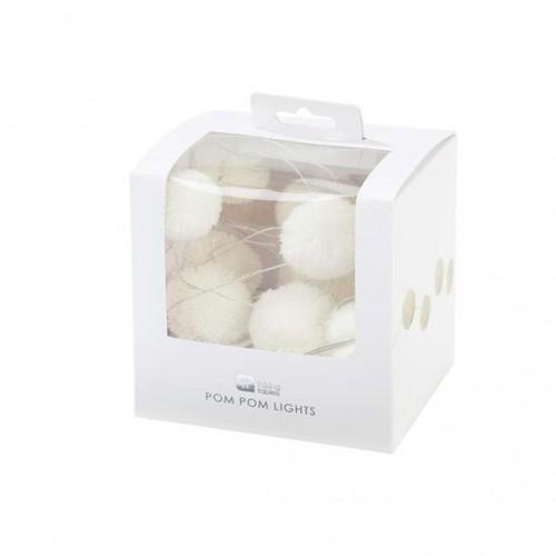 Party illuminations warm white (2m/20 led)