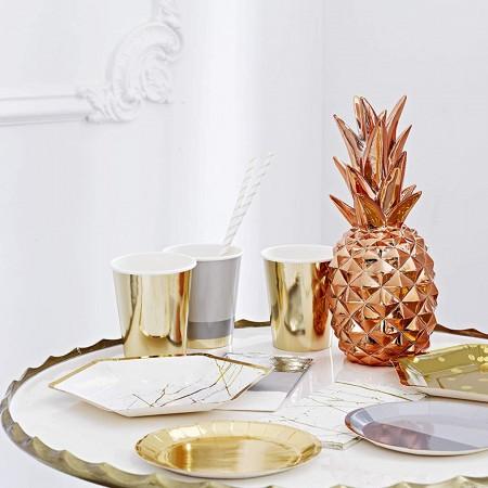 Gold foil cup (8u)