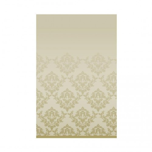 Gold Damask paper tablecover (180x120 cm)