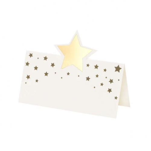 Star Gold Placecards