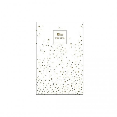Star Gold Table Cover (180x120 cm)
