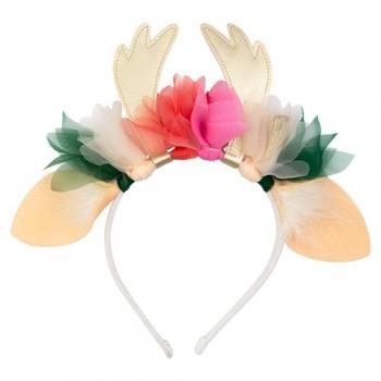 Diadema ciervo floral