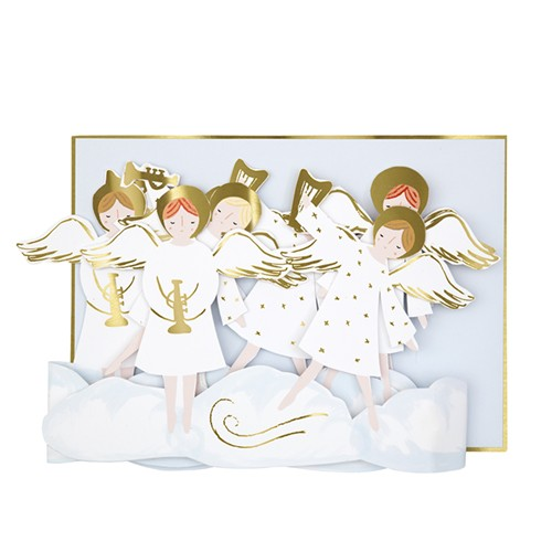 Angel Concertina card