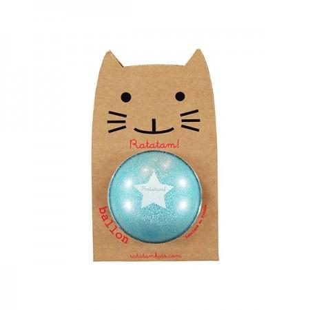 The Small Glitter Ball (Blue)