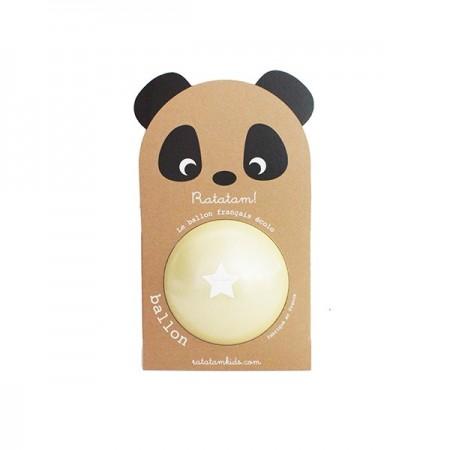 Pelota Panda Amarilla - Mediana