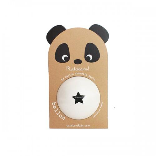 Pelota Panda Blanca - Mediana