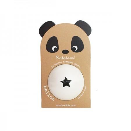 The Medium Panda Ball (White)