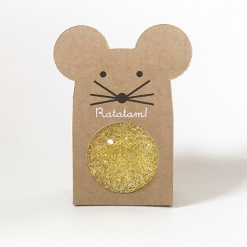 Mouse Bouncy Balls Gold