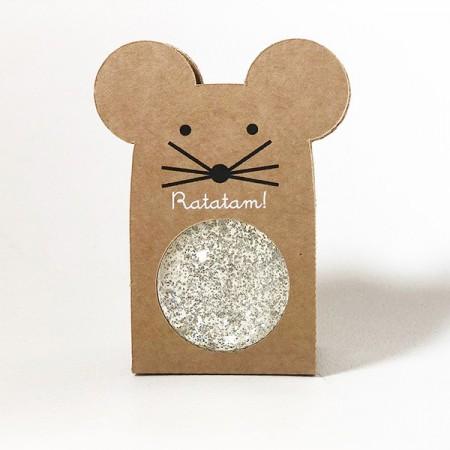Mouse Bouncy Balls Silver