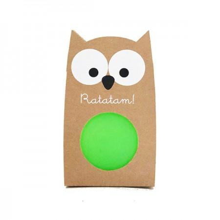 OWL Bouncy Balls Green
