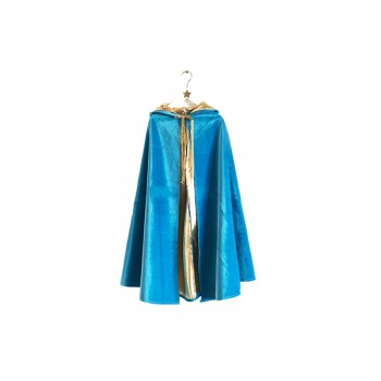 Magician cape - Blue and Gold