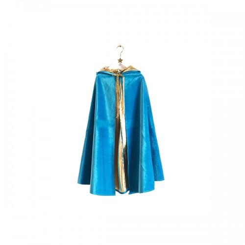 Capa de Mago - Azul y Dorado