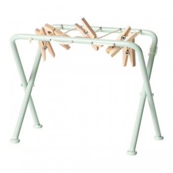 Drying rack w. pegs