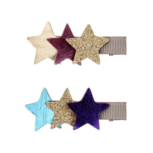 Horquillas pelo estrellas (3u)