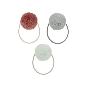 Pom Pom ponies, pastel(Pack of 3)