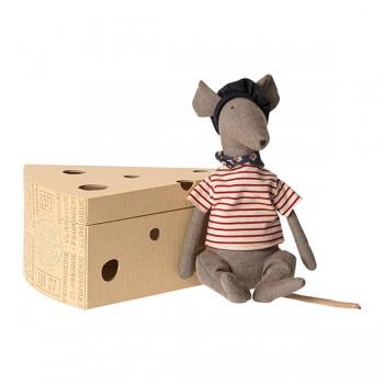 Rata en caja de queso - Gris