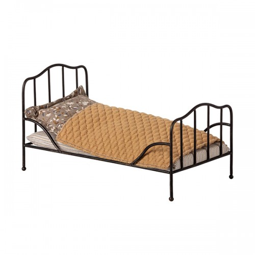 Vintage Bed Anthracite - Mini