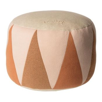 Puff tambor rosa (medium)