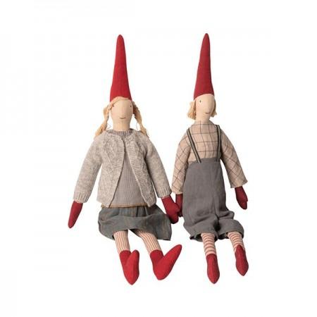 Muñecos duendes Louise & Lucas - Maxi