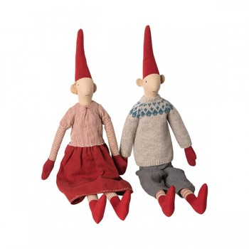 Muñecos duendes Laura & Lars - Maxi