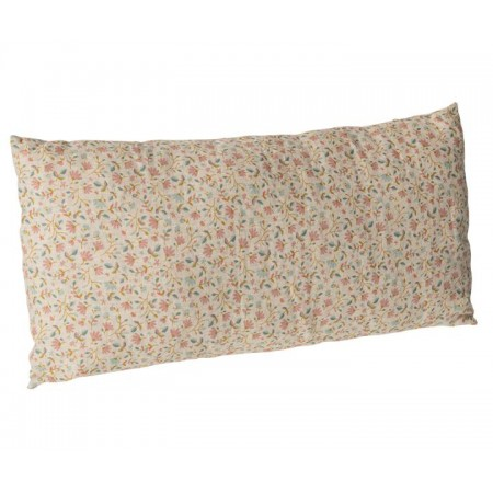 Cushion w. flowers 30x50 Rose