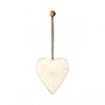 Ornament Heart - Metal